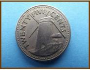 Барбадос 25 центов 1973 г.