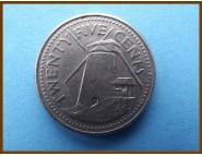 Барбадос 25 центов 2000 г.