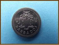 Барбадос 10 центов 2007 г.