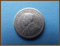Канада 10 центов 1931 г. Серебро