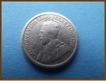 Канада 10 центов 1933 г. Серебро