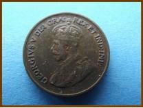 Канада 1 цент 1933 г.