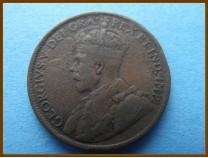 Канада 1 цент 1919 г.