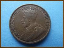 Ньюфаундленд 1 цент 1919 г.