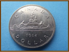 Канада 1 доллар 1984 г.