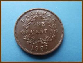 Саравак 1 цент 1937 г.