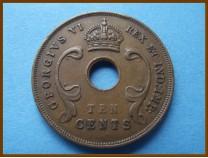 Восточная Африка 10 центов 1943 г.