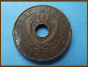 Восточная Африка 10 центов 1933 г.