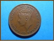 Британский Гондурас 1 цент 1944 г.