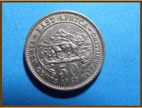 Восточная Африка 50 центов 1962 г.