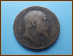 Великобритания 1 пенни 1910 г.