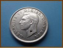 Великобритания 2 шиллинга 1943 г. Серебро