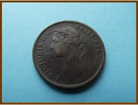Великобритания фартинг 1891 г.