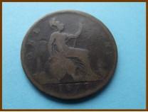 Великобритания 1 пенни 1877 г.