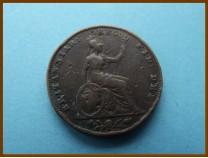 Великобритания фартинг 1853 г.