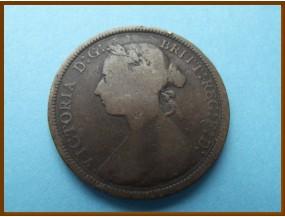 Великобритания 1/2  пенни 1893 г.