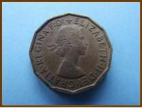 Великобритания 3 пенса 1965 г.