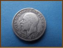 Великобритания 6 пенсов 1936 г. Серебро