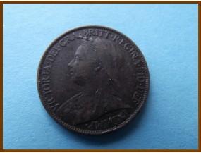 Великобритания фартинг 1896 г.