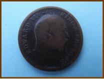 Индия 1/4 анны 1908 г.