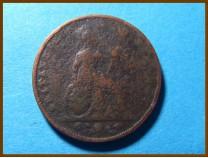 Великобритания фартинг 1826 г.