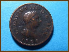 Великобритания фартинг 1806 г.