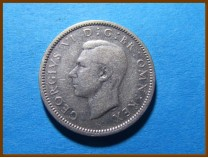 Великобритания 6 пенсов 1946 г. Серебро