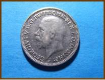Великобритания 6 пенсов 1934 г. Серебро