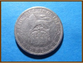 Великобритания 6 пенсов 1926 г. Серебро