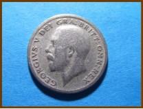 Великобритания 6 пенсов 1921 г. Серебро