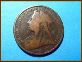 Великобритания 1 пенни 1897 г.