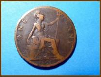 Великобритания 1 пенни 1896 г.