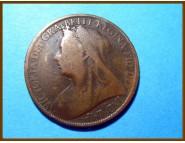 Великобритания 1 пенни 1898 г.