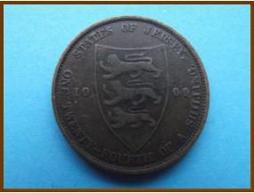 Джерси 1/24 шиллинга 1909 г.