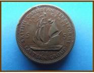 Британские Карибские территории 5 центов 1965 г.