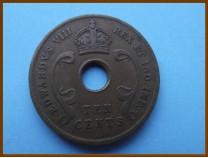 Восточная Африка 10 цент 1936 г.