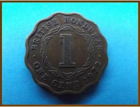 Британский Гондурас 1 цент 1972 г.