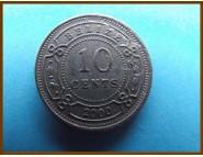 Белиз 10 центов 2000 г.