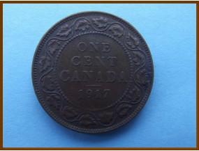 Канада 1 цент 1917 г.