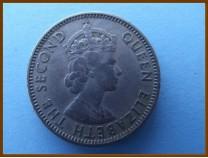 Британский Гондурас 25 центов 1970 г.