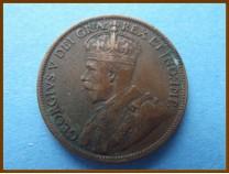 Канада 1 цент 1918 г.