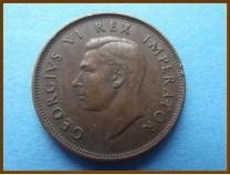 Южная Африка ЮАР 1/2 пенни 1942 г.