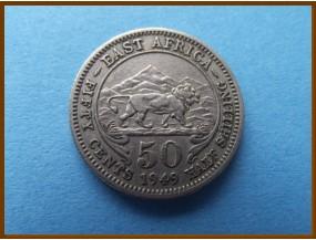 Восточная Африка 50 центов 1949 г.