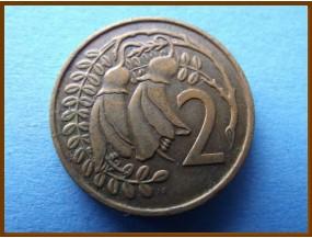 Новая Зеландия 2 цента 1967 г.