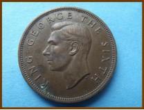 Новая Зеландия 1 пенни 1952 г.