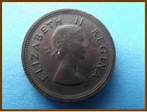 Южная Африка ЮАР 1/4 пенни 1955 г.
