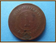Стрейтс-Сетлментс 1 цент 1903 г.