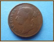 Стрейтс-Сетлментс 1 цент 1894 г.
