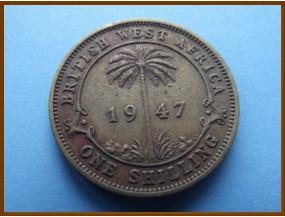 Британская Западная Африка 1 шиллинг 1947 г.