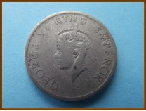Индия 1/2 рупии  1947 г.